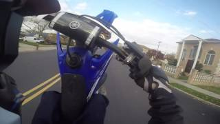 Yz250 Street Ride And Wheelies  #BLOXYAHEARD #ALLABOUTTHEBLOX