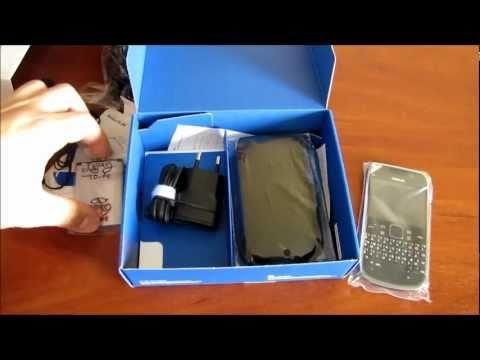 Обзор Nokia E6 Unboxing