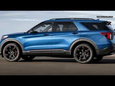 2020 Ford Explorer ST Blue Specs and Testdrive
