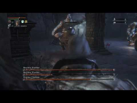 Bloodborne - The World's Most Powerful Bloodletter (by request): 859 Blood ATK AR