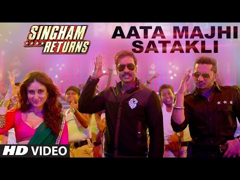 Aata Majhi Satakli | Singham Returns Shiamak Winter Funk London 2014 HD