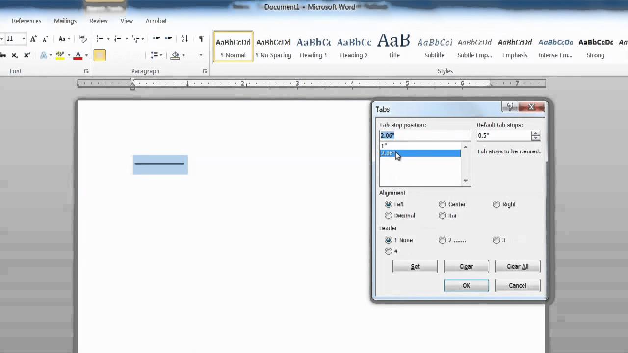 How to Add Text Over a Line Without the Line Moving as You Type Text in  Microsof : Using MS Word
