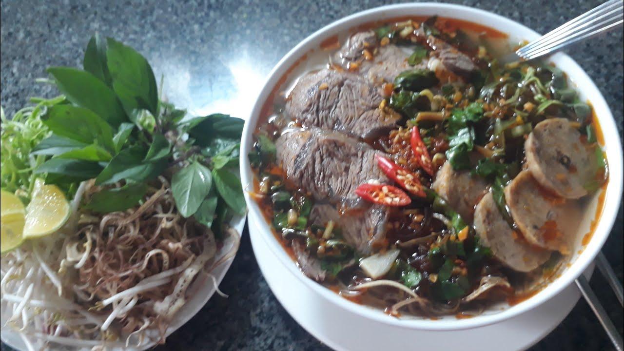 CÁCH NẤU  BÚN BÒ NGON và LÀM SA TẾ dễ💕💕 RICE NOODLE WITH BEEF, love cuisine