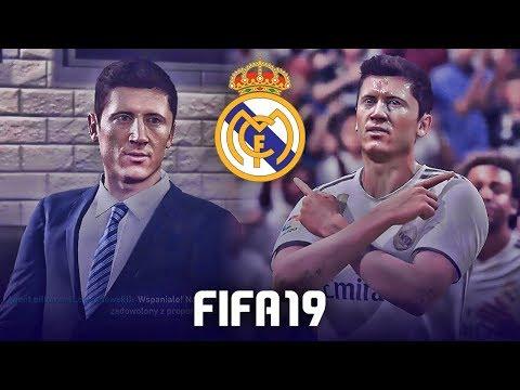 FIFA 19 | KUPUJEMY ROBERTA LEWANDOWSKIEGO DO REALU MADRYT!