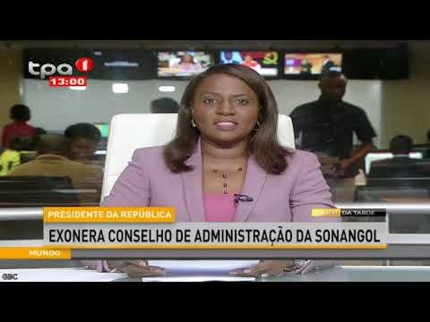 Presidente Da República Exonera CAD Da SONANGOL E Nomeia Carlos Saturnino Oliveira PCA