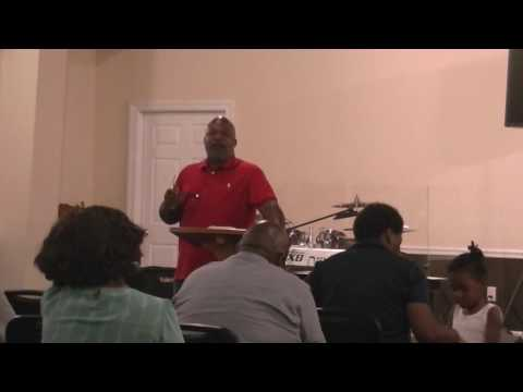 Tuesday Night Bible Study with Pastor Weathersby (8.30.16)