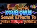 How To Add ANY Sound Effect or Song To Your YouTube Videos   IOS 9+   IPhone, IPad, IPodT