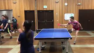 Guy Misses Ping Pong Ball During Table Tennis Match - 1018974-1
