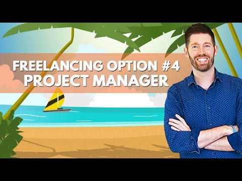 Digital Nomad Freelancing Option #4   Project Manager