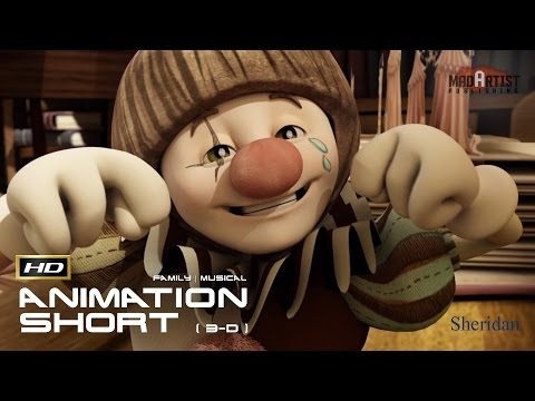 """CGI 3D Animated Short Film """"ELIDI"""" Adorable Animation Cartoon for Kids by Sheridan College"""
