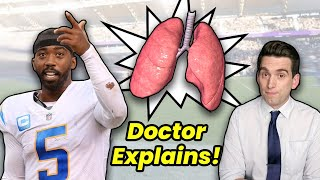Tyrod Taylor has Lung PUNCTURED By Rib Injection - Doctor Explains Wild NFL Story
