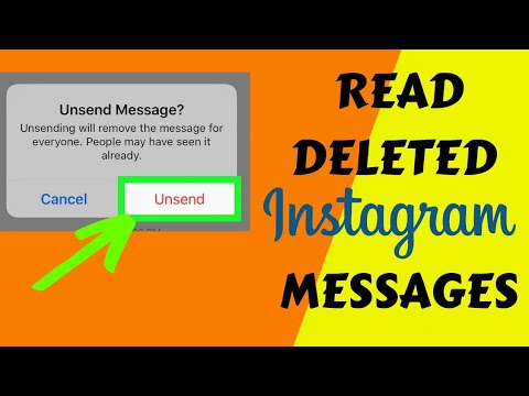 Read Unsent messages of Instagram in 3 minutes  Deleted Instagram messages  | Kashif