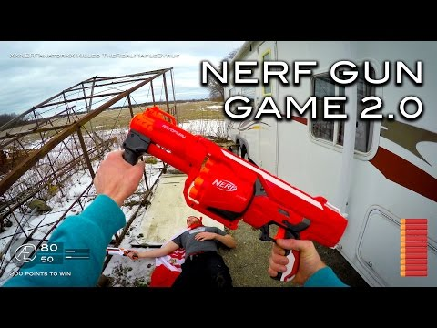 Thumbnail: Nerf meets Call of Duty: Gun Game 2.0 | First Person in 4K!