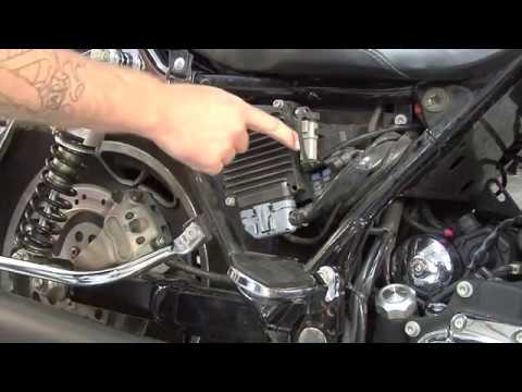 2006 Harley Davidson Road King Wiring Diagram 2002 07 Touring Diagnostic Connector Location Youtube