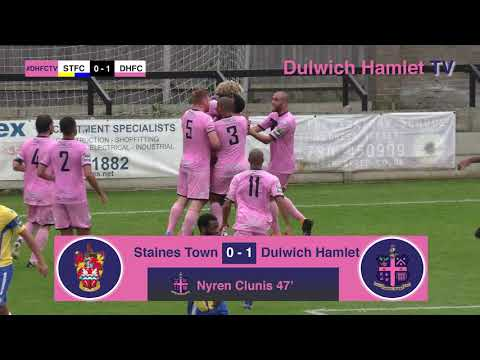 Staines Town 1-1 Dulwich Hamlet, Bostik League Premier Division, 14/10/17 | Match Highlights