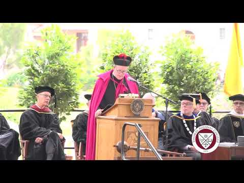 The Most Rev. Robert E. Barron, Commencement Address 2019