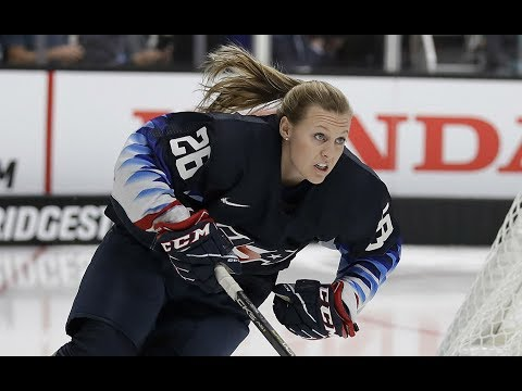 Re-live Kendall Coyne Schofield's Impressive Run At NHL's Fastest Skater Competition