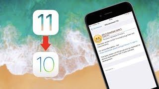 Как откатиться с iOS 11 Beta 2 до iOS 10? Легко!