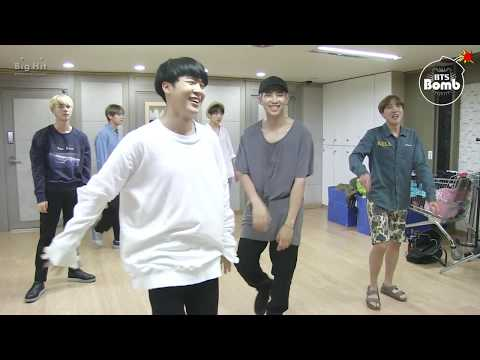 [BANGTAN BOMB] RM and Jin Dance Stage Behind the scene for BTS DAY PARTY 2016 - BTS (방탄소년단)