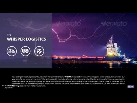 Logistics Company Presentation Video