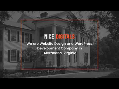 Website Design and WordPress Development Company in Alexandria, Virginia