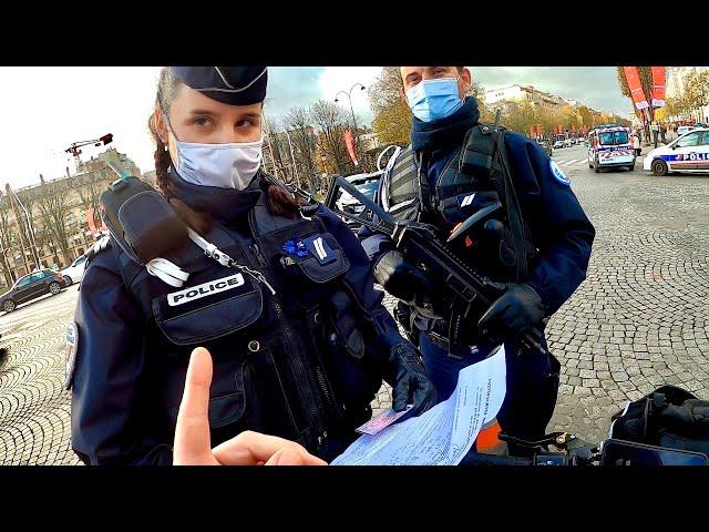 CONTRÔLE DE POLICE, mauvaise Attestation 🤦🏻♂️