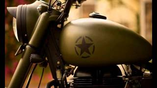 Military Matt Green Royal Enfield