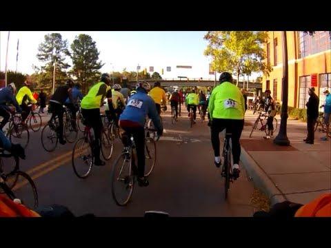 Biking To Benefit Habitat for Humanity Halloween Ride Durham NC 30 Miles  - Part I - Oct. 26,  2013
