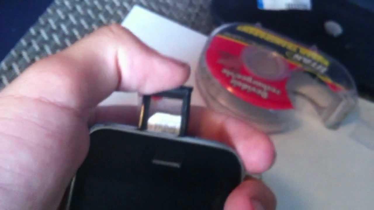Comment Mettre Une Carte Micro Sim Dans Un Iphone 3g 3gs
