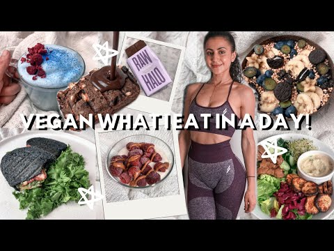 what i eat in a day: VEGAN 🌿 2020