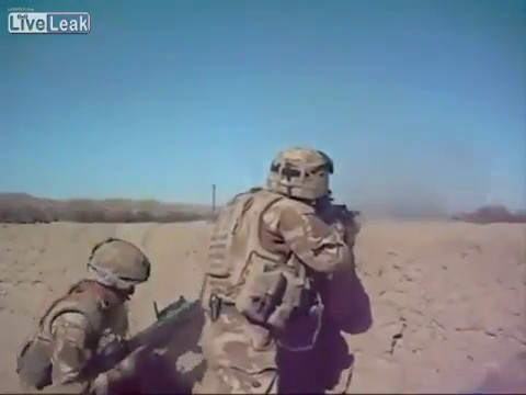 British Troops Action in Afghanistan