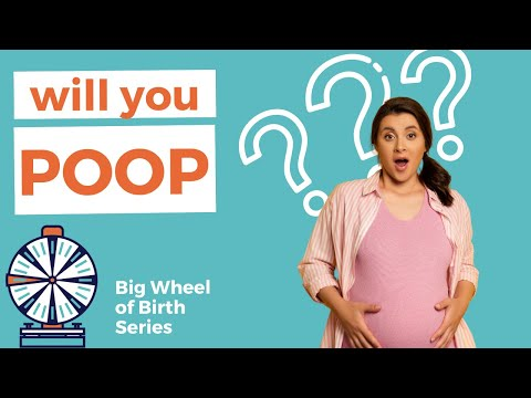 POOPING DURING DELIVERY: Will I poop in labor?