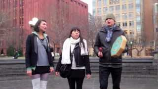 #IdleNoMore #J11 Digging Roots Music - Raven Kanatakta of the North American Ojibwe Tribe in Canada