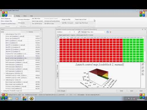 How to remap Launch control map into EDC15 1 9TDi PD using VAG EDC Suite