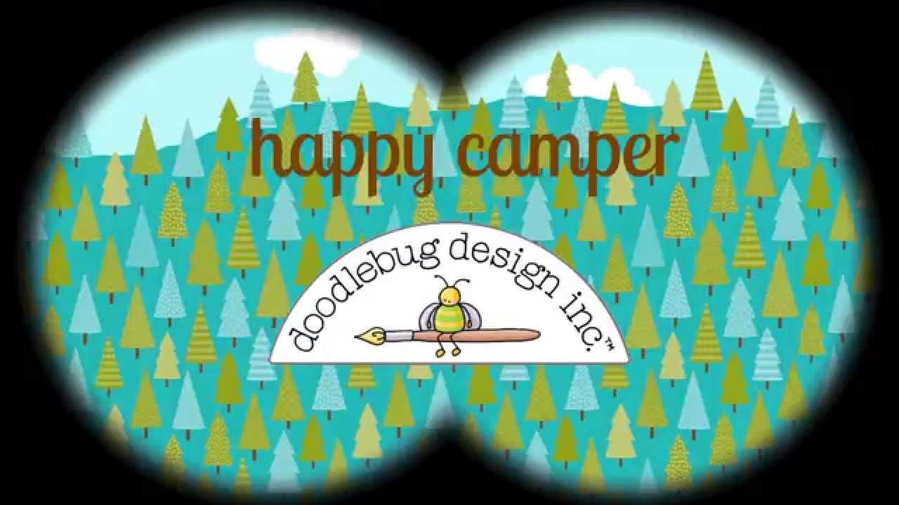 Riley blake-happy camper plates