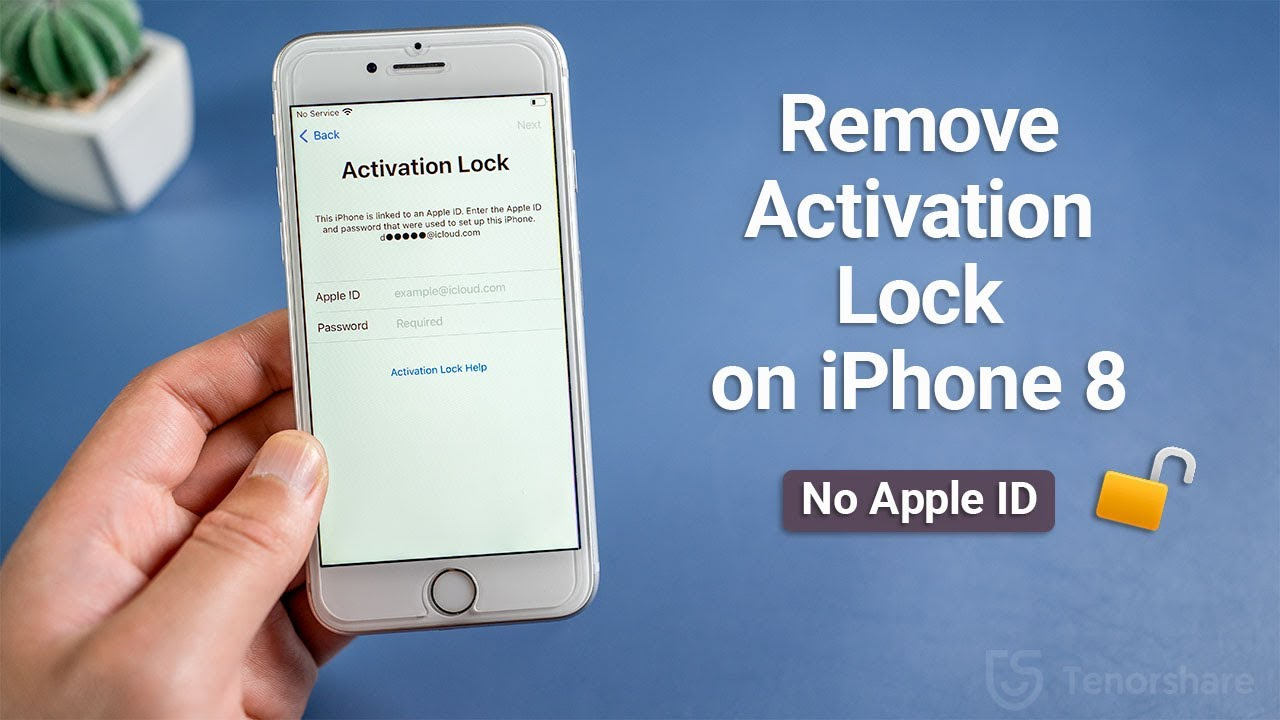 How to Remove iCloud Activation Lock on iPhone 8/8 Plus ...