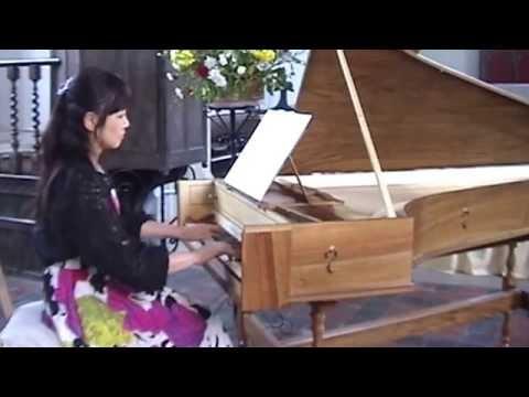 Georg Friedrich Händel Keybord Suite No. 7 g Minor HWV 432 Keiko Omura 大村圭子 Harpsichord Cembalo