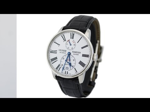Ulysse Nardin Chronometer Torpilleur 1183-310/40