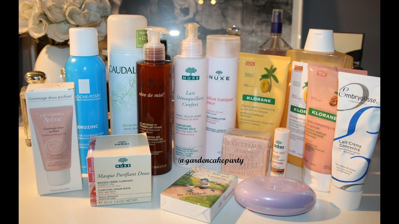 french pharmacy skincare favourites
