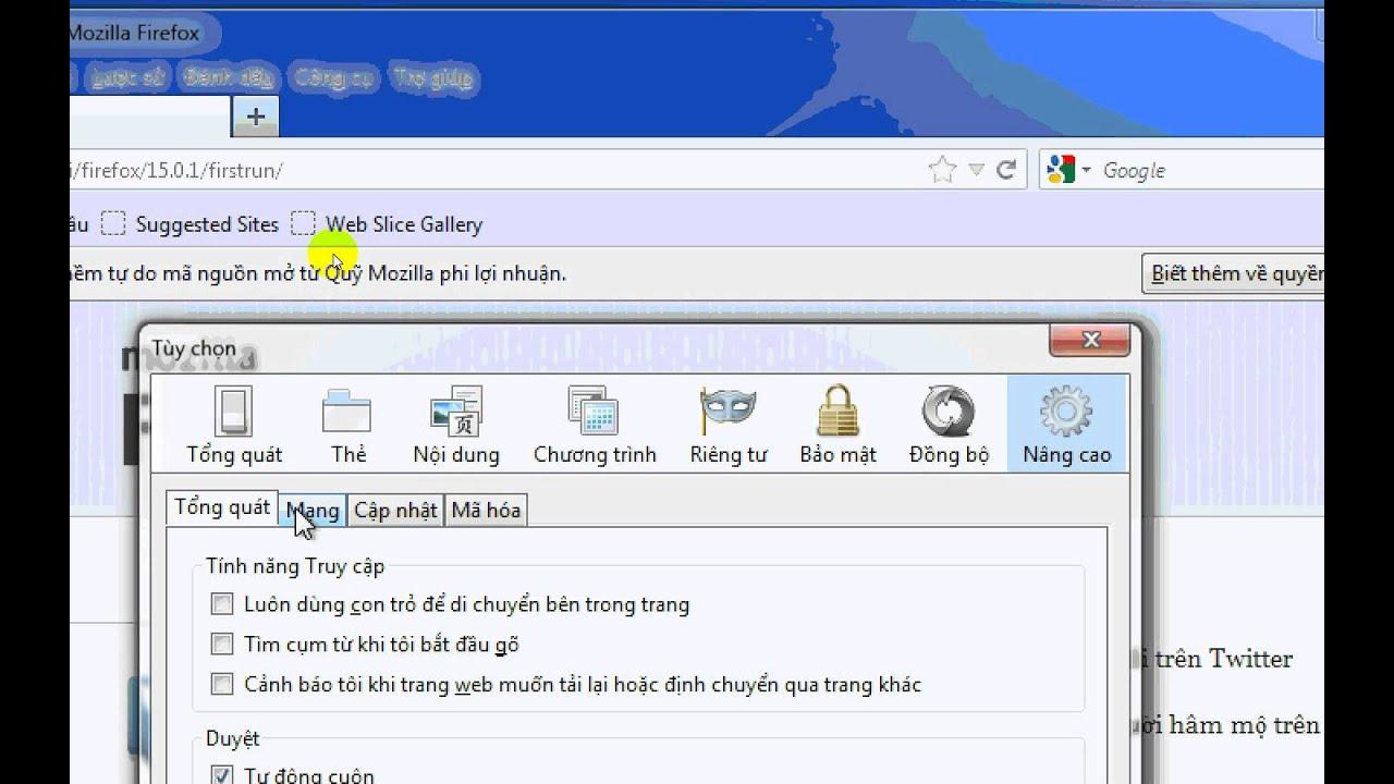 Firefox proxy youtube