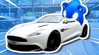 I Drove SONIC in a SUPERCAR!