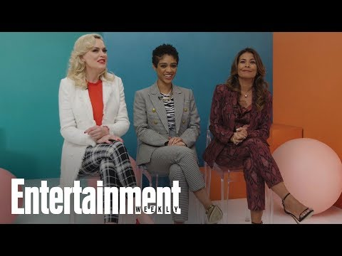 Wonder Women Acting For Television On Their Commercial Audition Horror Story | Entertainment Weekly
