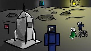 ماين كرافت مود الفضاء 1.5.2 | Minecraft Moon Mod 1.5.2