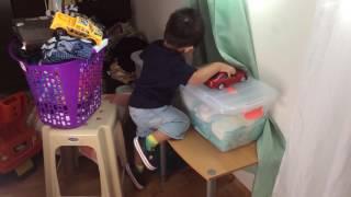 Baby Khayr wanted to see baba gulay.. 👍🍼
