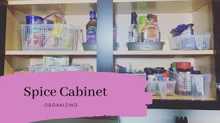 Spice Cabinet Organization, How To Organize it!