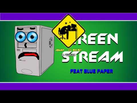 6.) GREEN_PAPER - GREEN STREAM. ИГРАЕМ В PORTAL 2 С BLUE PAPER