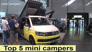 Top 5: mini Campers