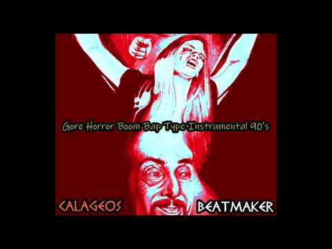 Gore Horror Boom Bap Type Instrumental Hip Hop 90's