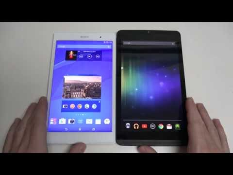 Sony Xperia Z3 Tablet Compact vs Nvidia SHIELD Tablet