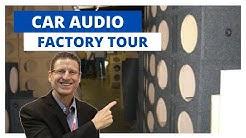 Car Audio Factory Tour